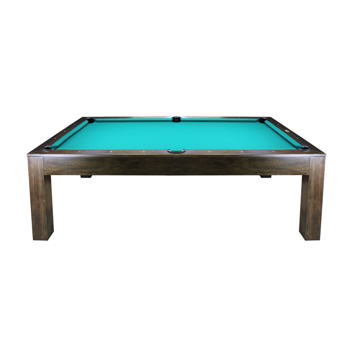 Robbies Custom Dining Pool Table Walnut side stock