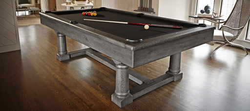 Brunswick Park Falls Pool Table Greystone finish