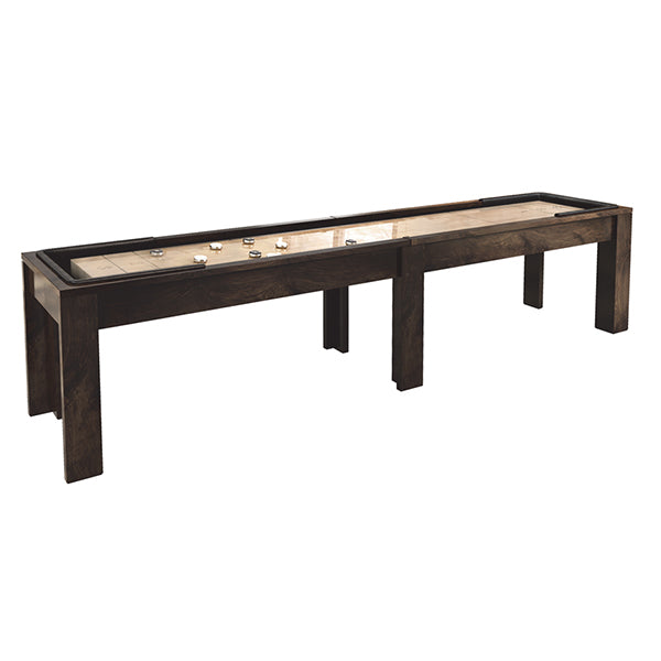 california house district shuffleboard table stock