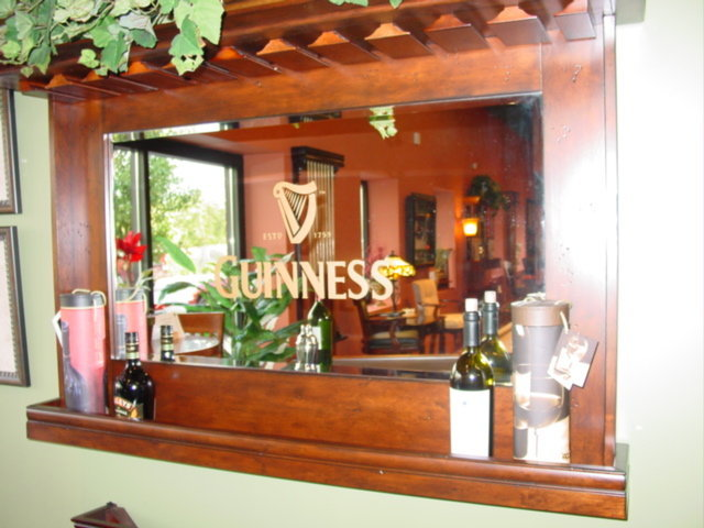 "ECI 1235 Guinness 62"" Home Bar Set"