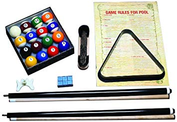 Economy Billiard Accessory Package (with purchase of pool table)