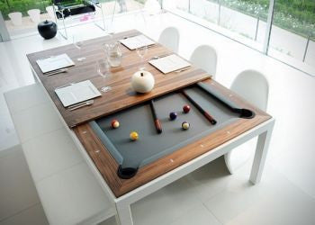 Fusion Pool Dining Table - with Glass Top