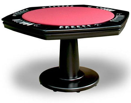 california house glen ellen poker game table stock hexagon