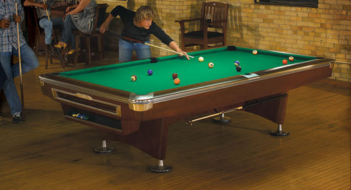 Brunswick Gold Crown V Pool Table room
