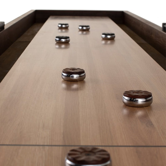 Contemporary Shuffleboard Table play surface