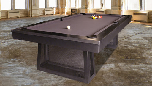 plank and hide ixabel pool table stock room setting