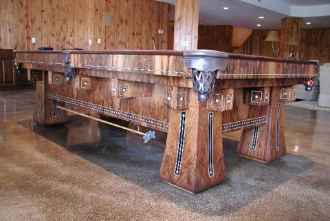Golden West Kling Pool Table