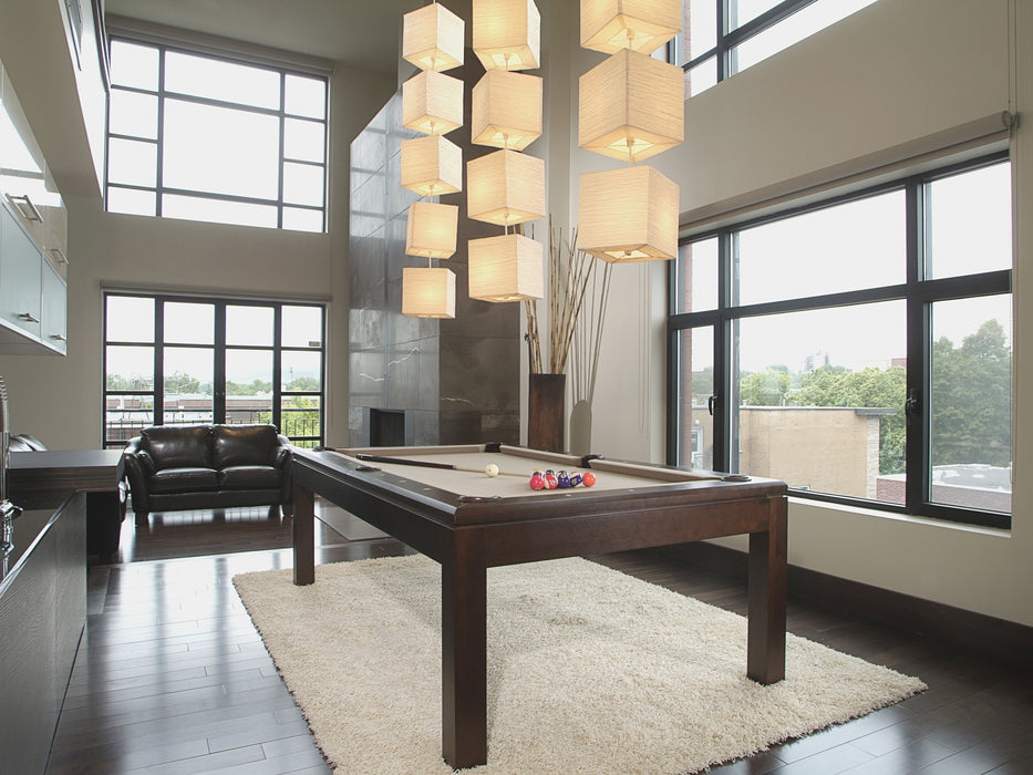 La Condo Lotus Dining Pool Table Main 2