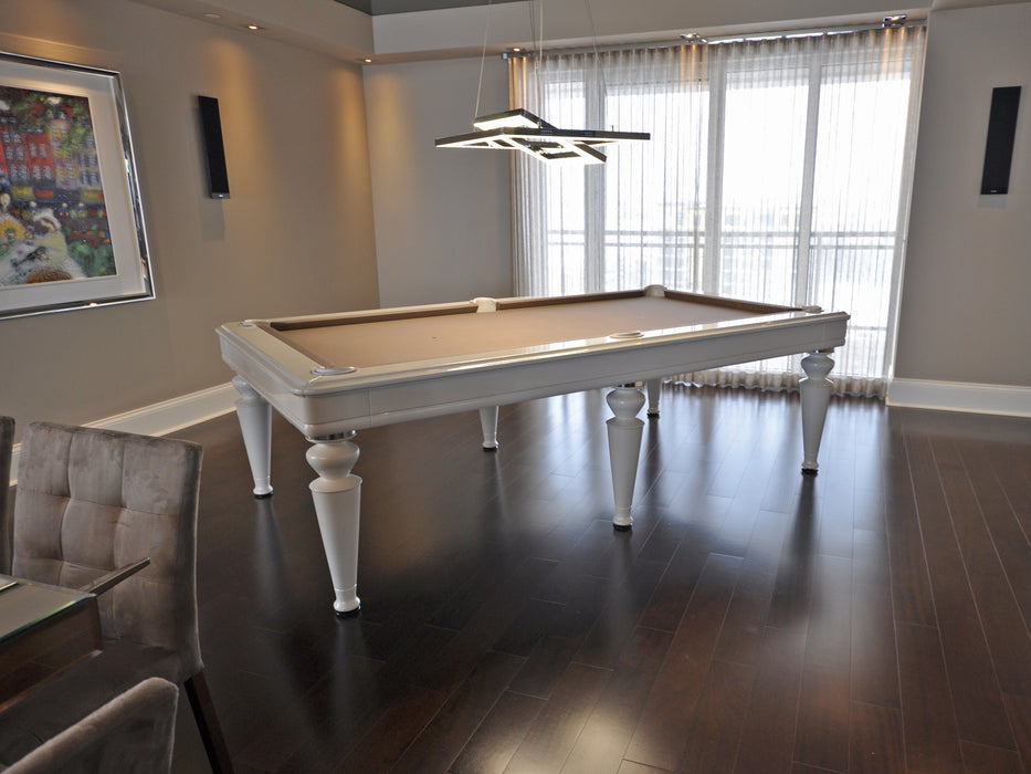 la condo venus dining pool table side view2