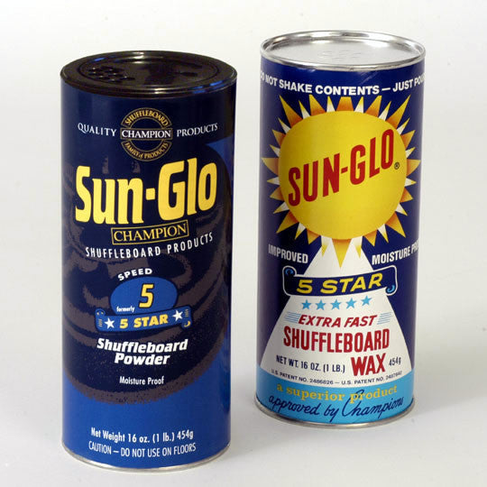 Sun-Glo #5 speed shuffleboard powder stock