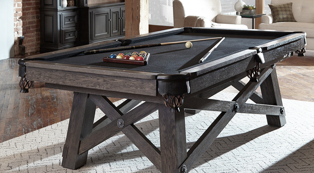 California House Loft Pool Table showroom