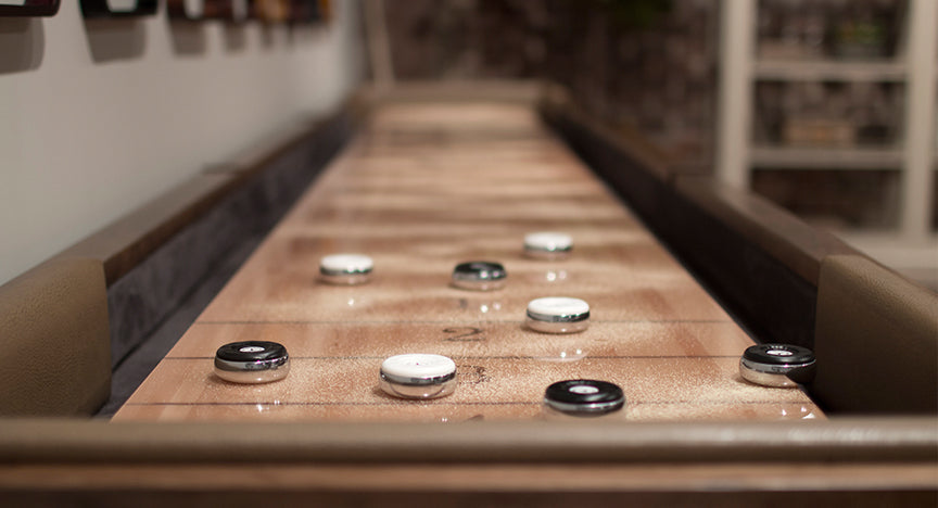 California House Bainbridge Shuffleboard Table