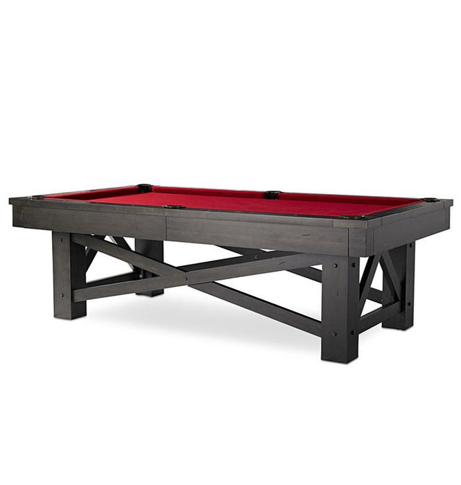 Plank and Hide McCormick Pool Table stock main