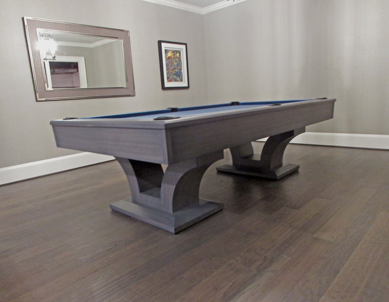 olhausen alexandria pool table matte smoke