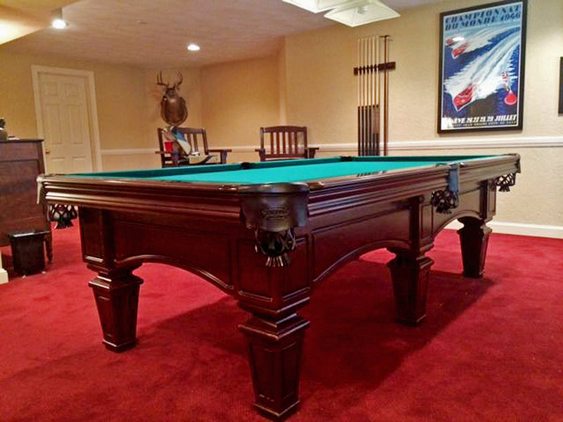 olhausen belle meade pool table room