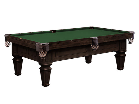 brentwood pool table espresso finish stock