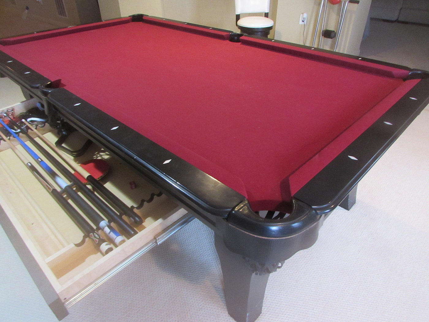 ... Olhausen Chicago Pool Table Drawer ...