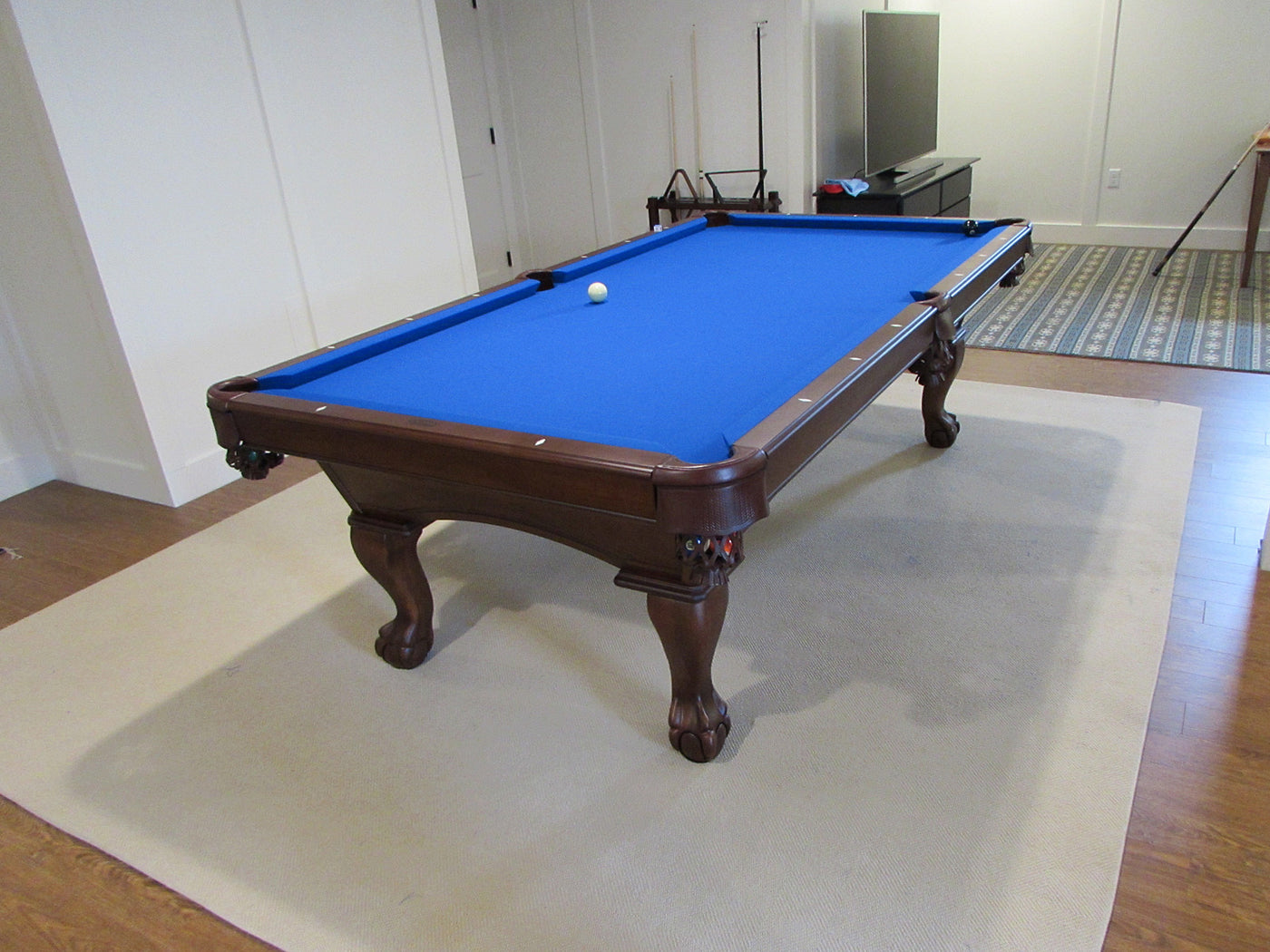 ... Olhausen Gabriel Pool Table Euro Blue Cloth ...