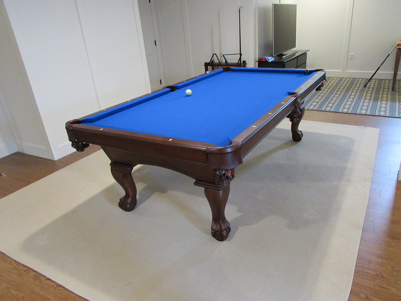 olhausen gabriel pool table euro blue cloth