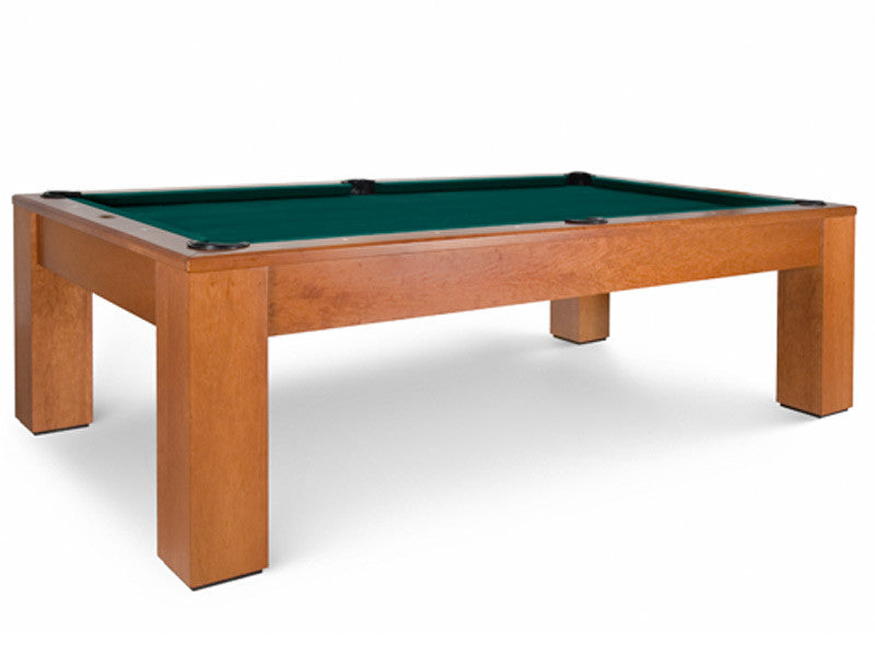 olhausen madison pool table in natural cherry