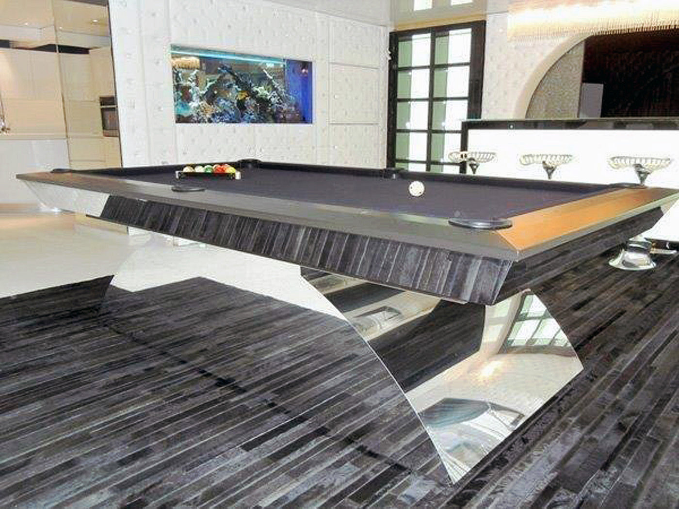 Olhausen Modern Pool Table Robbies Billiards - Modern pool table designs