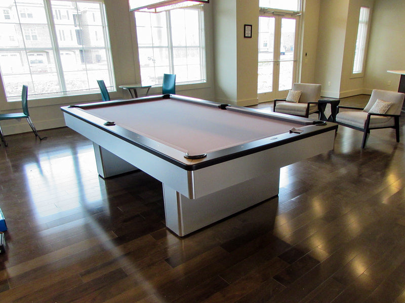 monarch pool table brushed aluminum room3