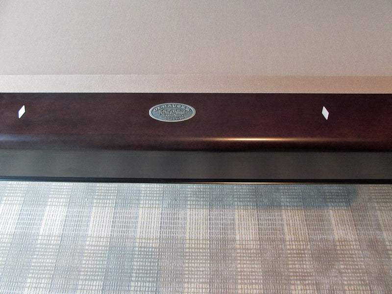 olhausen nicholas pool table rail detail