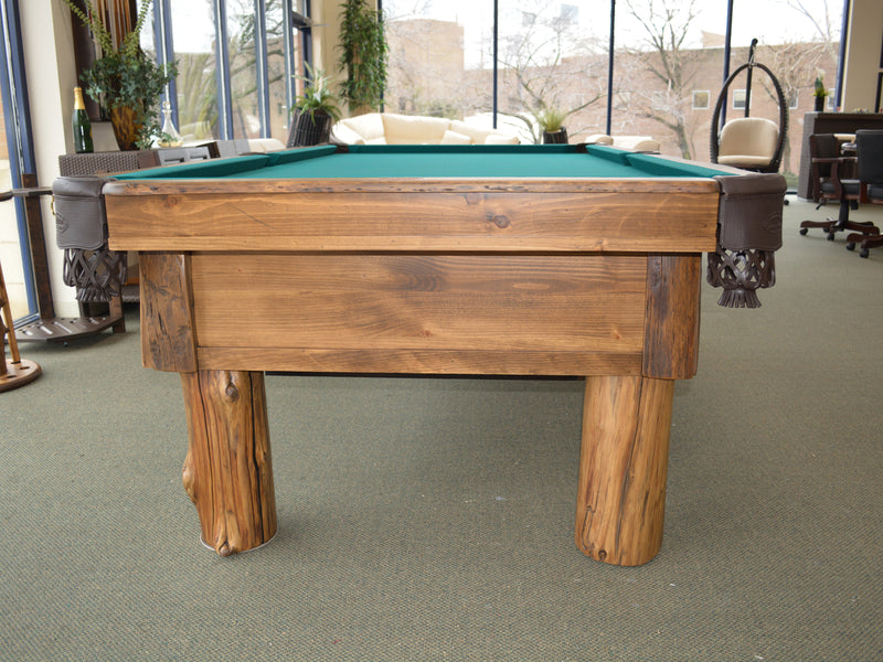 Olhausen Pinehaven Pool Table end detail