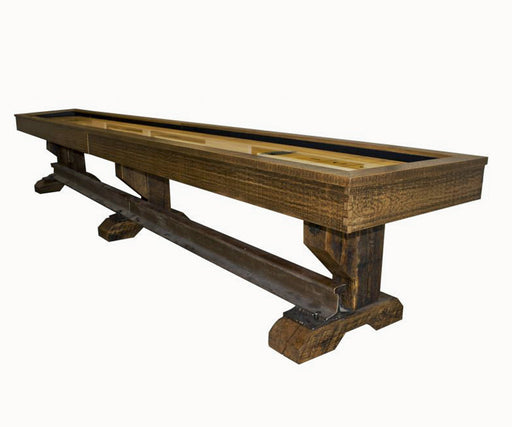Olhausen Rail Yard Shuffleboard Table stock