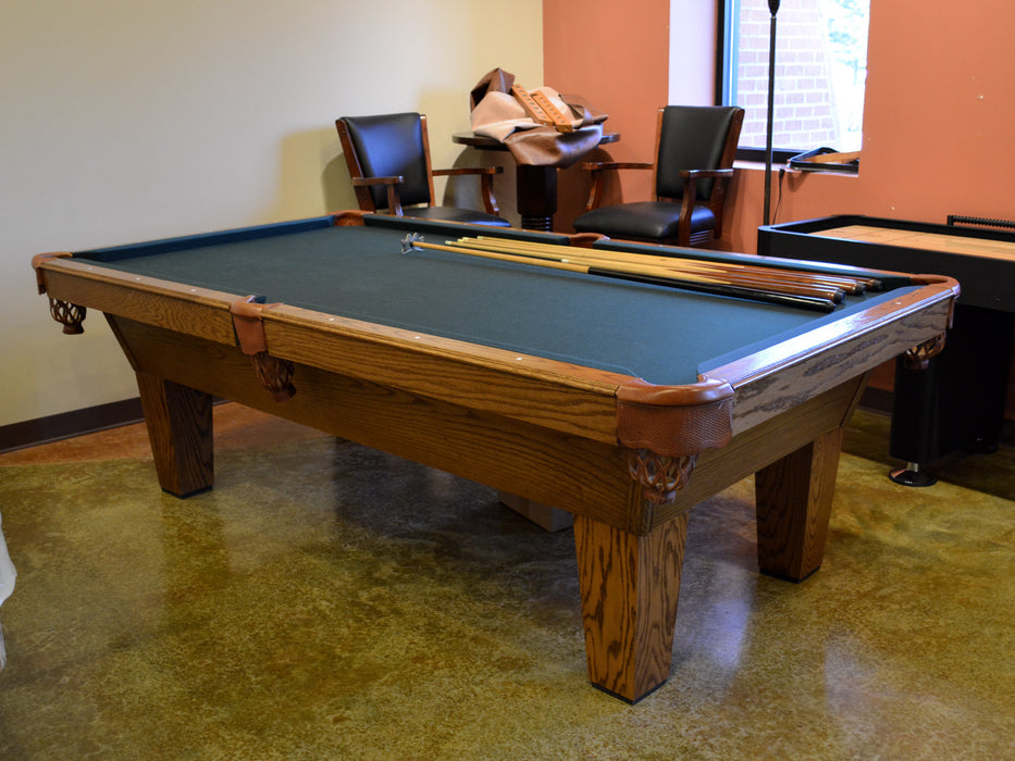 Olhausen Sheraton Pool Table oak veneer