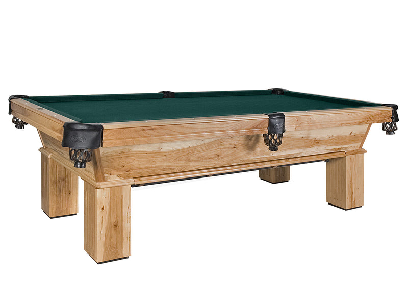 Olhausen Southern Pool Table Natural Hickory