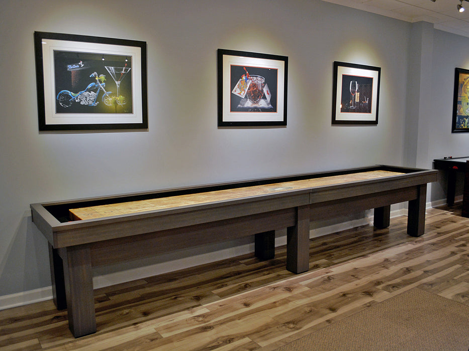 olhausen west end shuffleboard table 14' showroom