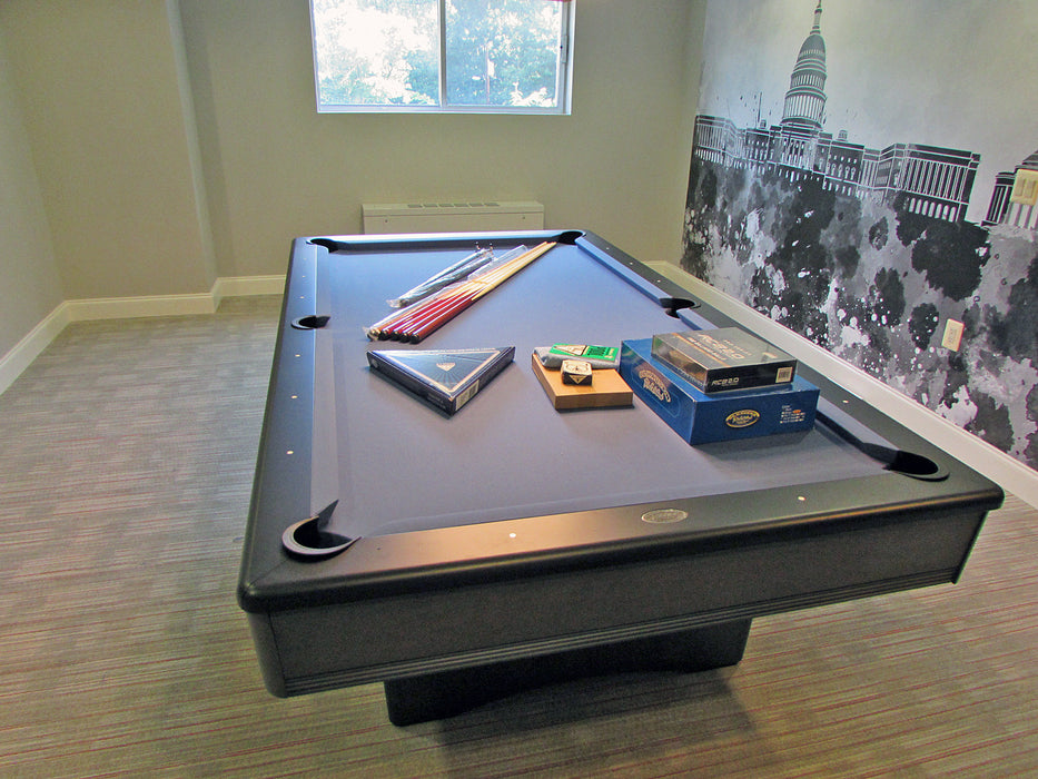 olhausen york pool table with accessories