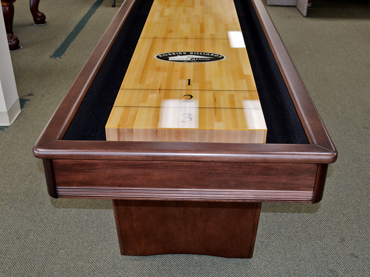snap back tavern system electronic shuffleboard table scoring feet image with and leg levelers adjustable