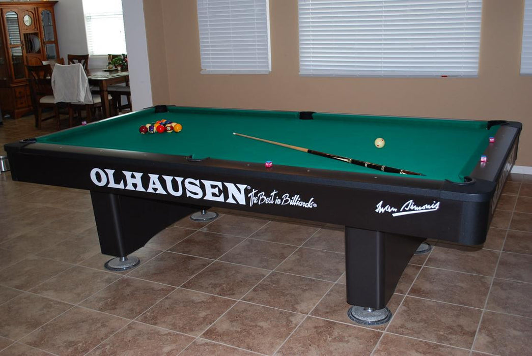 Olhausen Grand Champion pool table standard trim