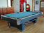 Olhausen Grand Champion pool table aluminum trim room