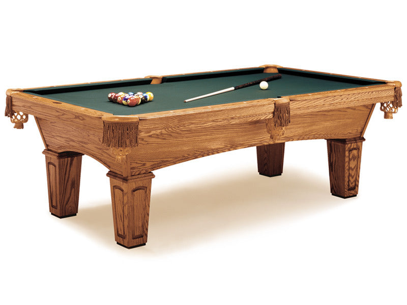 augusta pool table american walnut stock
