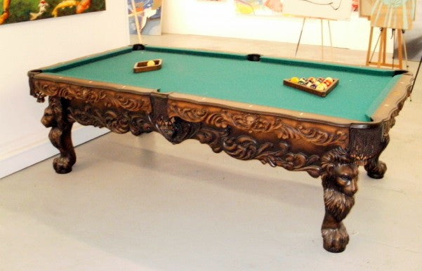 Olhausen St. Leone Pool Table showroom