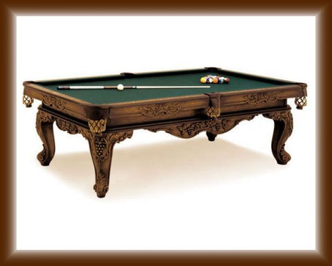 A Olhausen Louis XIV Pool Table