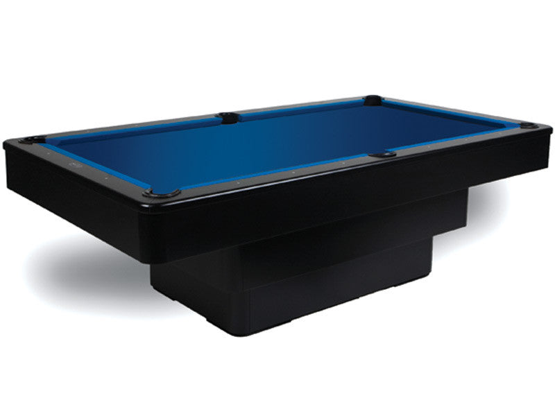 olhausen maxim pool table black lacquer stock