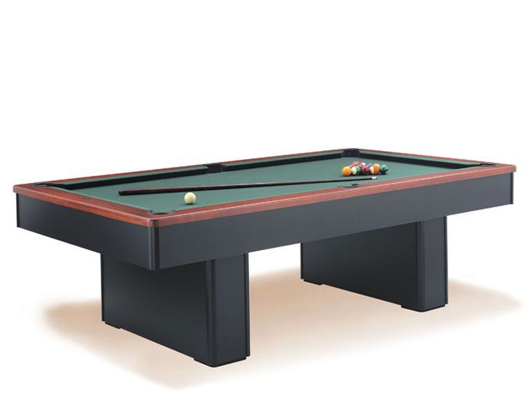 monarch pool table two tone wood stock