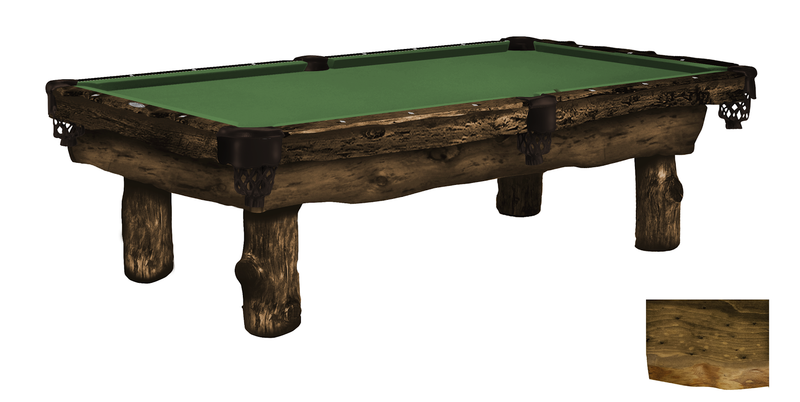 Olhausen Ponderosa Pool Table dark finish