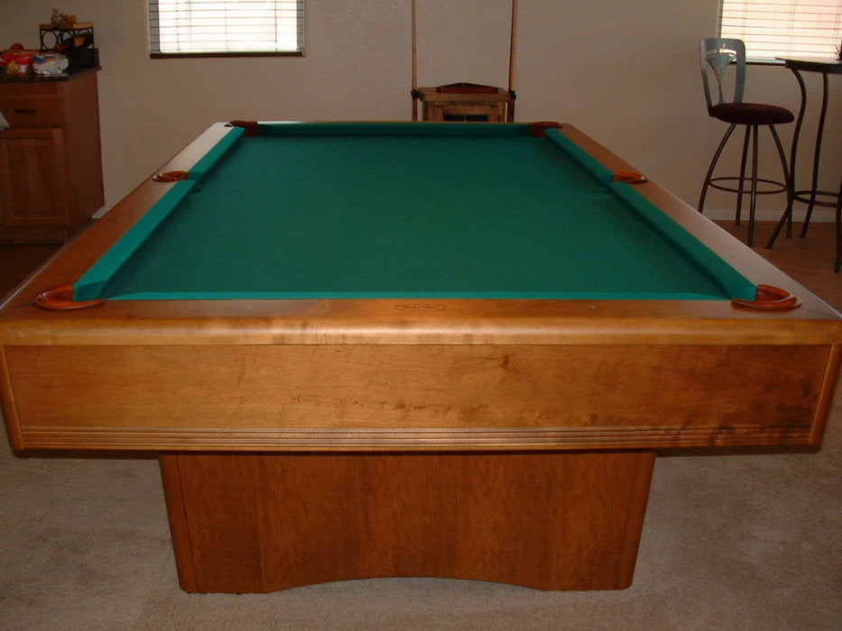 olhausen york pool table end view