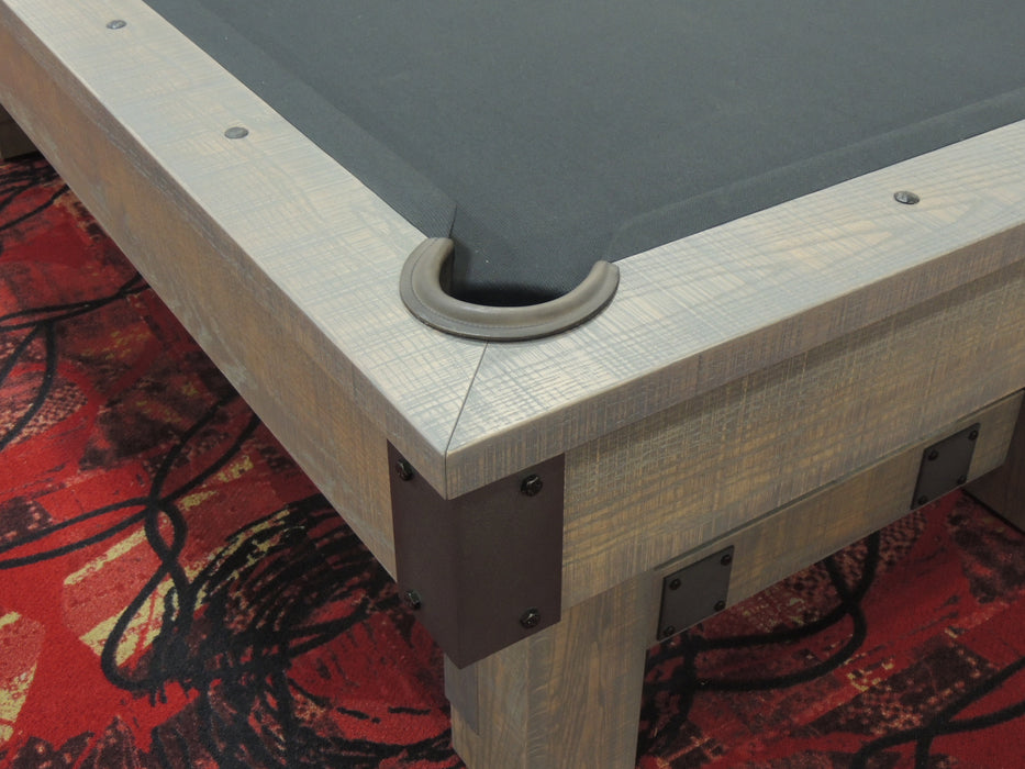 Olhausen Youngstown Pool Table rail detail