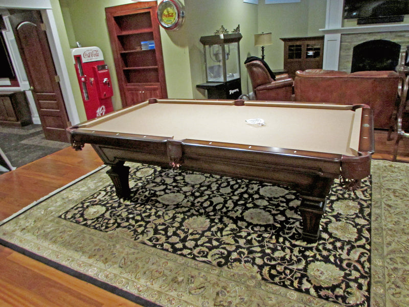olhausen hampton pool table heritage cherry finish