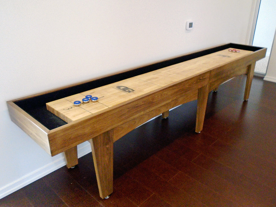 olhausen pavilion shuffleboard american maple finish option