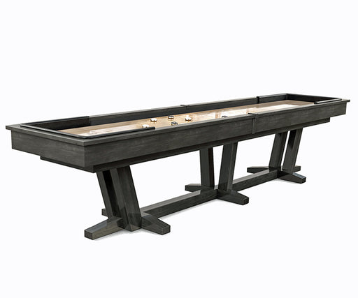 california house petaluma shuffleboard table stock