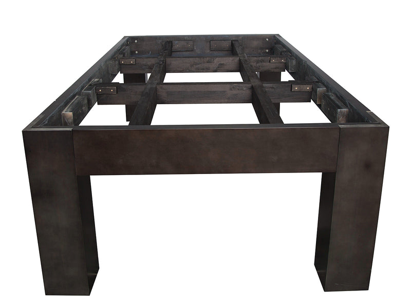 plank and hide fulton pool table slate base frame stock