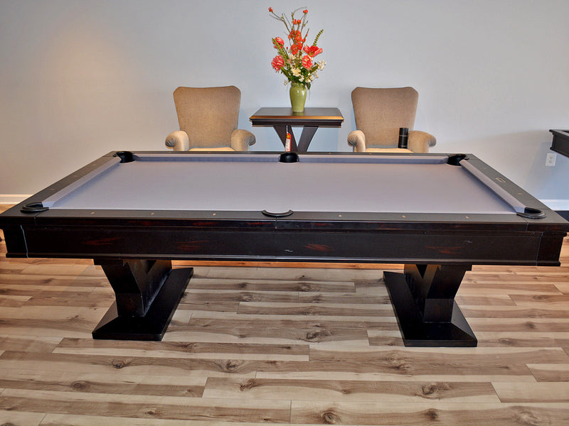 plank and hide gaston pool table side