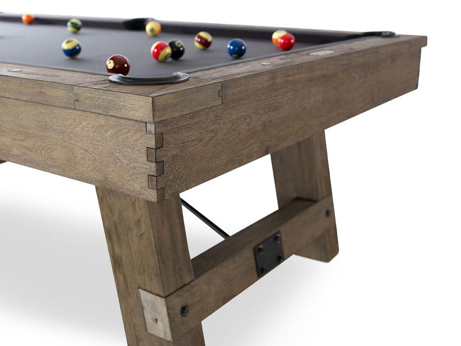 plank and hide isaac pool table end